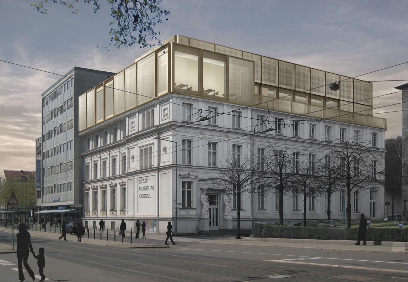 stadtmuseum kassel bhsf architekten. Black Bedroom Furniture Sets. Home Design Ideas