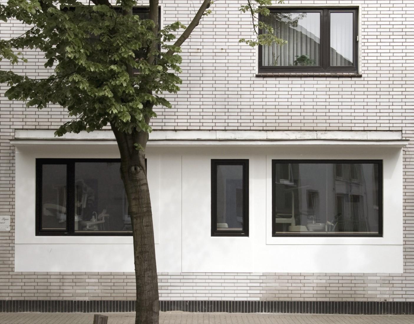 zahnarztpraxis duisburg bhsf architekten. Black Bedroom Furniture Sets. Home Design Ideas