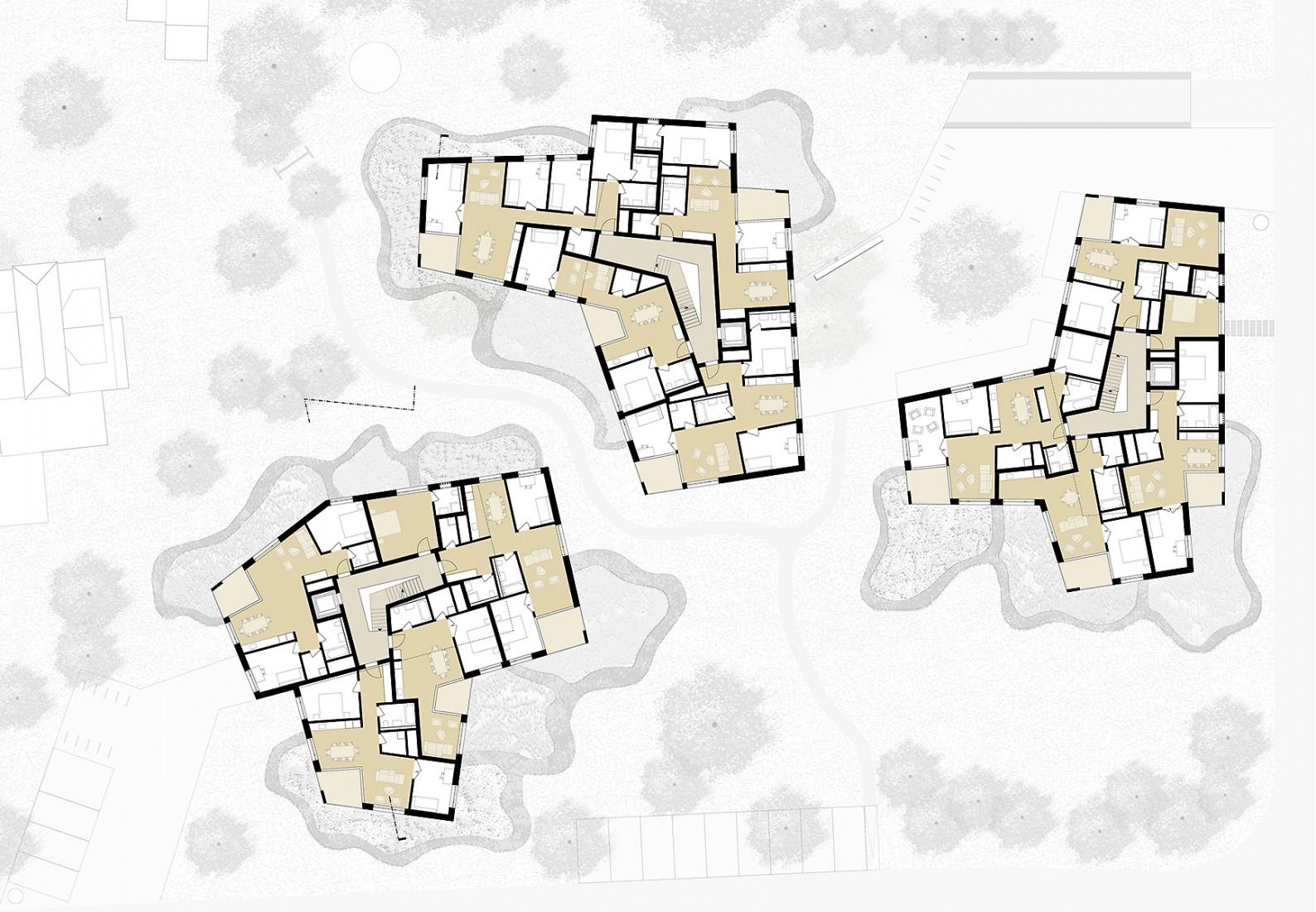 Quellengarten aarau bhsf architekten for Architektur 4 1