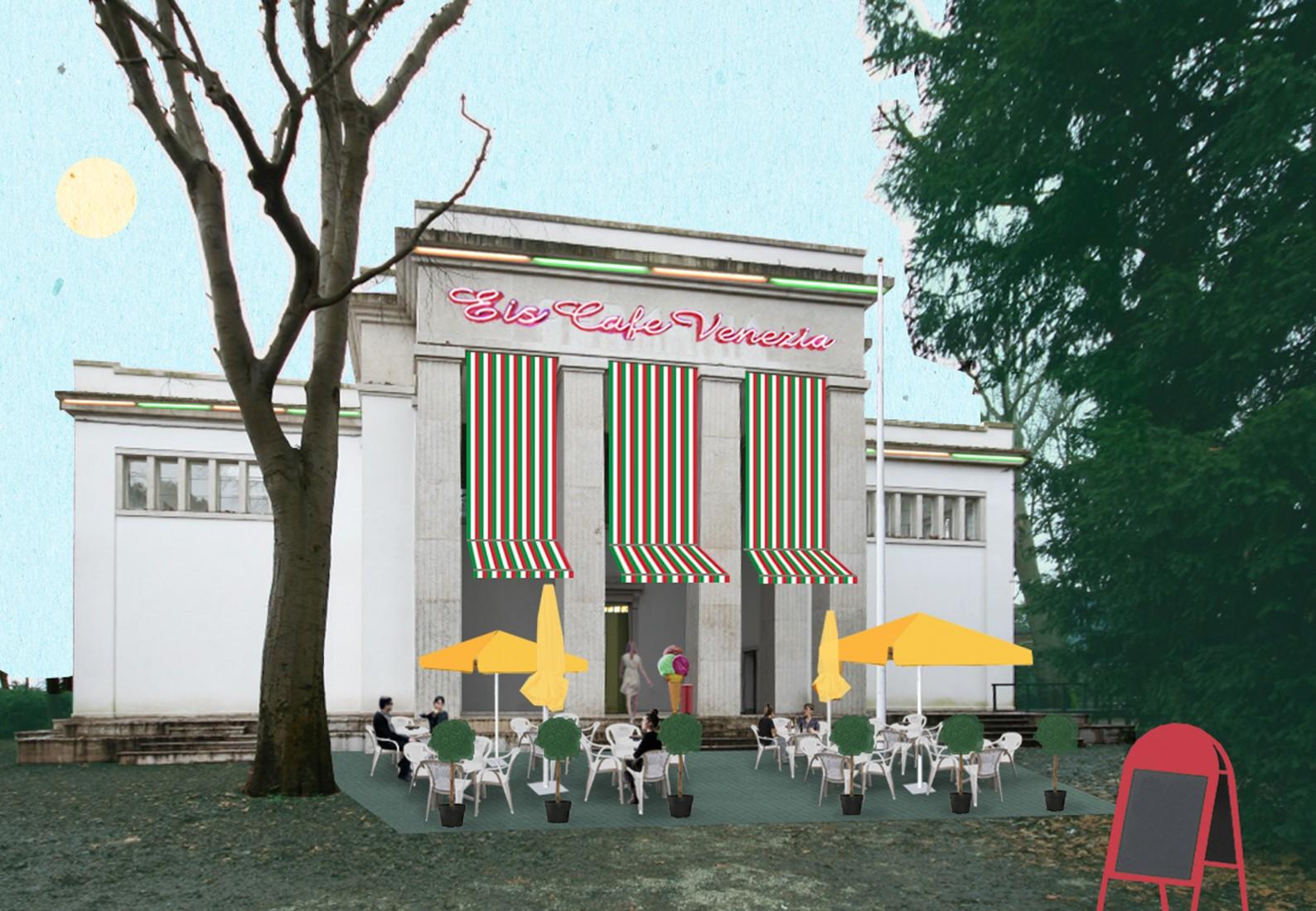deutscher pavillon venedig biennale bhsf architekten. Black Bedroom Furniture Sets. Home Design Ideas