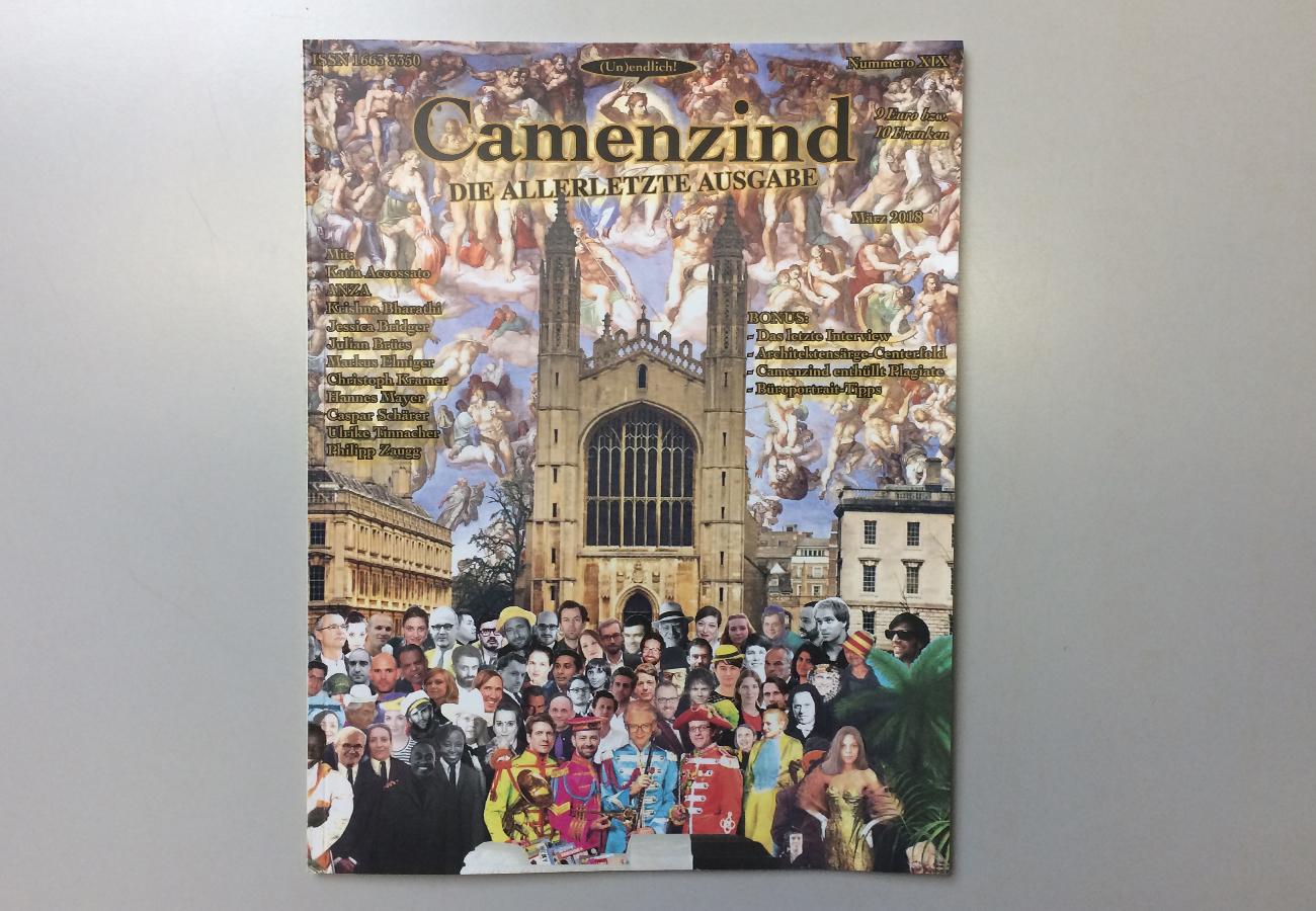 BHSF Architekten | 16/3/2018: Camenzind Release in the Kunsthalle Zürich